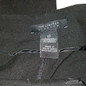 Black Slacks from the Limited